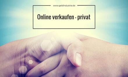 Online verkaufen – privat