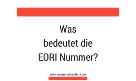 Wie Sie eine EORI Nummer beantragen
